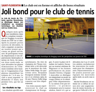 Yonne Républicaine 26/03/2013