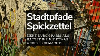 Spickzettel Paris