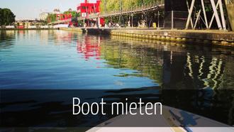 Boot mieten Paris