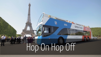 Stadtrundfahrt Paris Hop on Hop off