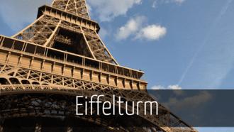Sehenswürdigkeiten Paris Eiffelturm