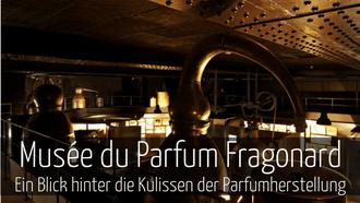 Parfummuseum Paris Eintritt frei