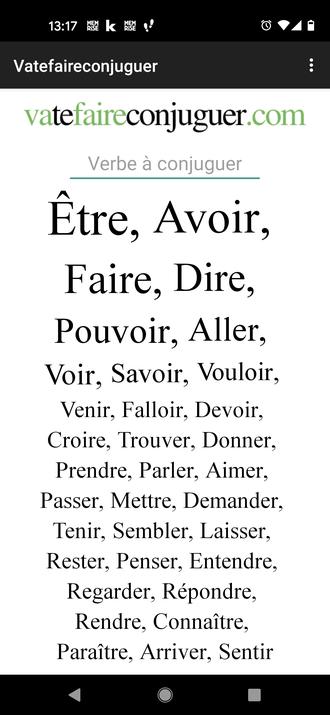 Französisch lernen Verben konjungieren