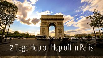 Paris Silvester Hop on Hop off