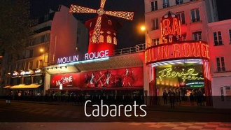 Cabaret Paris Moulin Rouge