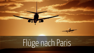 Flug Paris