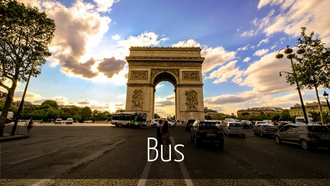 Bus in Paris