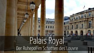 Paris mit Kindern Palais Royal
