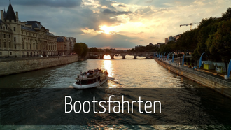 Paris mit Kindern Bootsfahrt