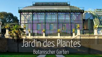 Paris mit Kindern Botanischer Garten