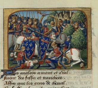 La bataille de Formigny par Martial d'Auvergne