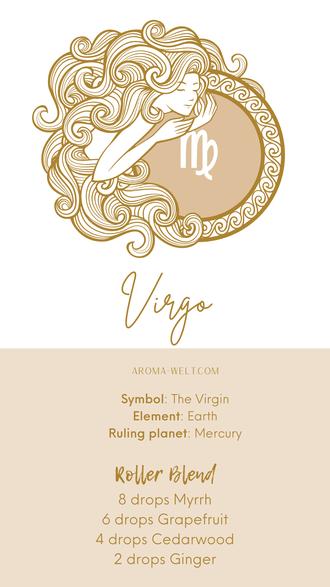 Essential Oils and Zodiac Signs / Astrology / Sternzeichen / Ätherische Öle  - Virgo - Jungfrau