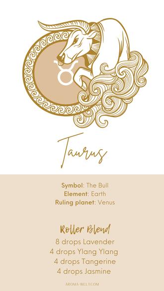Essential Oils and Zodiac Signs / Astrology / Sternzeichen / Ätherische Öle  - Taurus - Steinbock