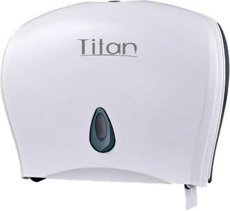 DISPENSADOR DE PAPEL HIGIÉNICO DOBLE TITAN 8003W BLANCO