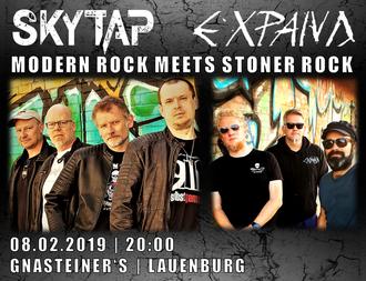 SKYTAP Live GnaSteiners Lauenburg mit Expand