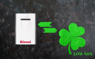 Offerta boiler a gas rinnai infinity  17L per uso esterno a basso nox al miglior prezzo 980 euro con iva e installazione a torino e provincia