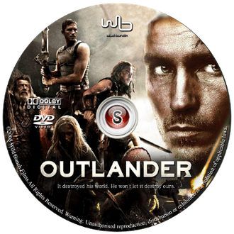 Outlander Cover DVD