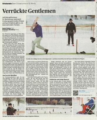 Verrückte Gentlemen - Tages Anzeiger (22.2.2016)