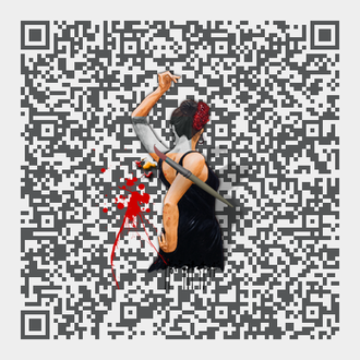 QR-Code Alonso-Design Malerei