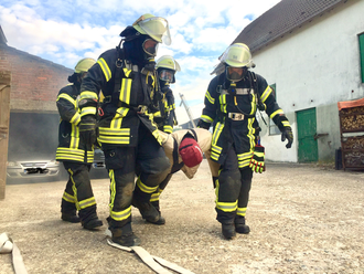 Dummy Gerettet Feuerwehr Lüdorf