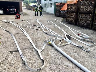 C-Schlauch Leitung Verteiler Feuerwehr Lüdorf