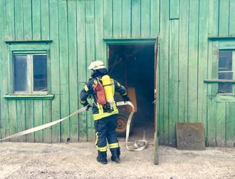 Atemschutz C-Schlauch Feuerwehr Lüdorf