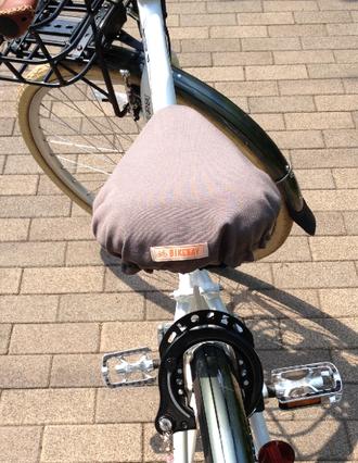 自転車通勤 サドルカバー