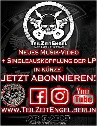 TeilZeitEngel bei AP-Radio 110% Deutschrock