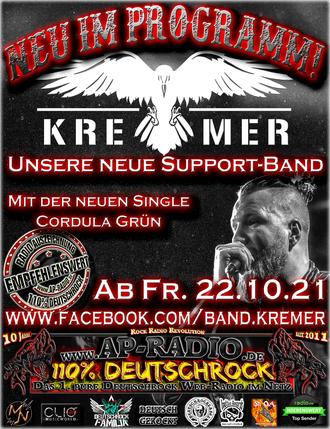 Kremer bei AP-Radio - 110% Deutschrock