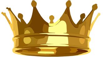 Les 24 anciens portent des couronnes d'or et sont assis sur des trônes, ce sont des rois qui règnent au nom de Dieu. En effet, Jean les voit se prosterner devant le Tout-Puissant en signe d'adoration. Ils déposent leur couronne devant le trône de Dieu.