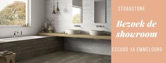 strakke badkkamer, decorgetels, houtlook keramisch, kerachmisch hout, waskommen, spiegel, inbouwkraan, inbouwbad, badkamer stobastone