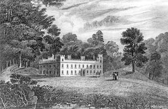 Great Barr Hall c1800 - source unknown