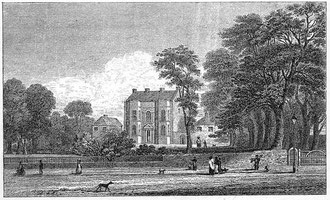 Bingley House in 1830 from R K Dent 1894 The Making of Birmingham, now in the public domain