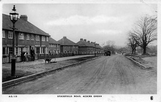 Stockfield Road in the 1930s