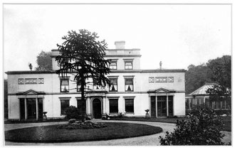 Ward End Hall c1890. Image used with kind permission of Ward End Library