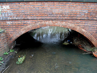 Stechford Bridge, still an important river crossing, carrying a section of the Outer Ring Road, Station Road.