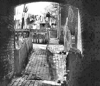 An alley near Aston Cross