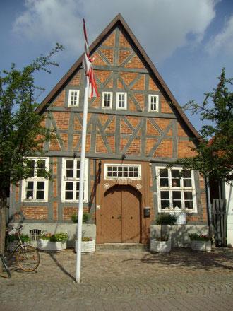 Rundolf-Schäfer-Haus, Rotenburg. Eines der ältesten Häuser in der Stadt