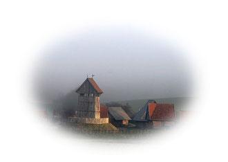 """Link zur Turmhügelburg in der Galerie """" Alte Siedlungsformen"""""""