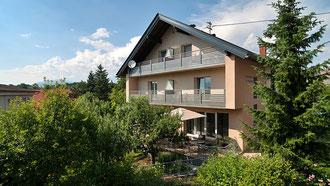 Pension und Gästehaus Familie Wulz Lesjak am Faaker See in Kärnten