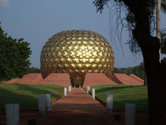 Matrimandir the center of Auroville