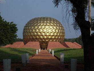 Matrimandir the center of Auroville