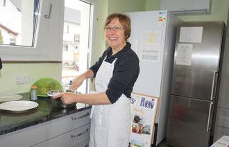 Küchenchefin Christine Hanke