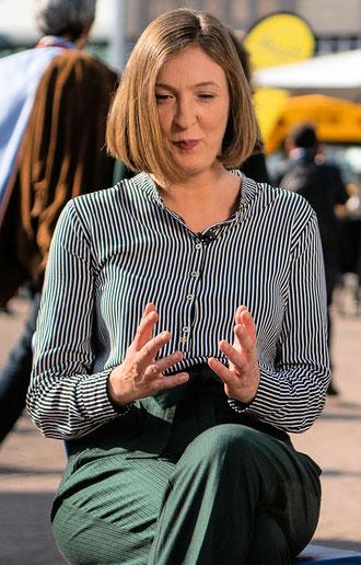 Inger-Maria Mahlke © Friedhelm Herr/FRANKFURT MEDIEN.net