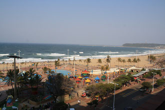 Blick vom Hotel auf den IndischenOzean