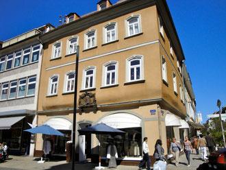 Das Geburtshaus des Friedrich Rückert am Marktplatz