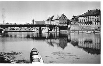 Blick auf die Maxbrücke