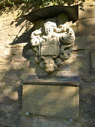Gedenkstein für General Wrangel