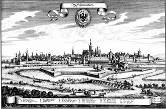 Schweinfurt um 1648