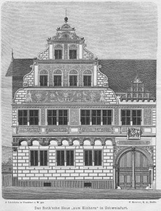 Das einstige Haus des Johann Höfel